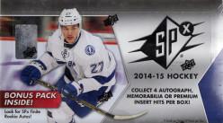 2014-15 Upper Deck SPx Hockey Cards