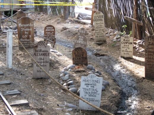 Cemetery in Alkali Flat