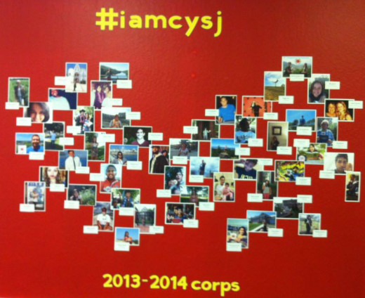 Countless shouts out and thanks to City Year, San Jose, where I completed my AmeriCorps year of service.