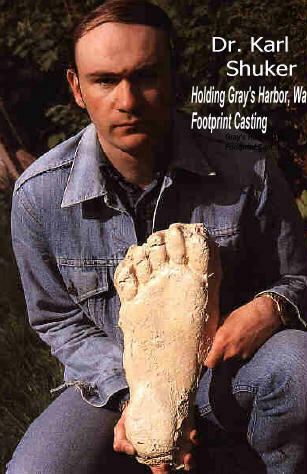 Giant footprints are common source of Bigfoot evidence.
