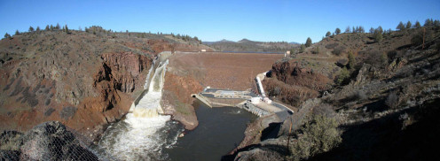 Irongate dam