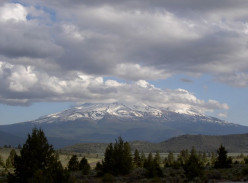 Mt. Shasta as seen from Klamath Falls
