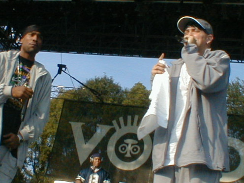 """Eminem at Voodoo 2000"""
