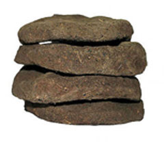 Dry Cow Dung Cakes