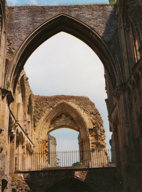 The Nave of Glastonbury Abbey