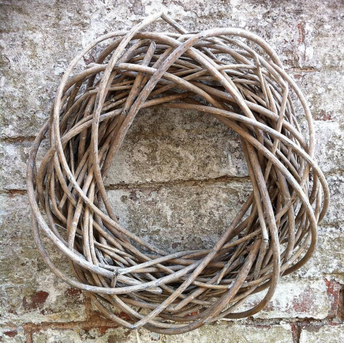 Wreath made of Willow