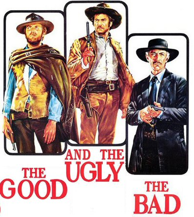 """an analysis of the good the bad and the ugly """"the ugly"""" and """"the bad"""" are reversed in the first trailer in the final film, tuco is designated as """"the ugly,"""" while lee van cleef's character, angel eyes, is """"the bad."""