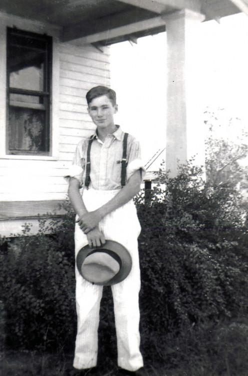 Clyde Martin - high school age