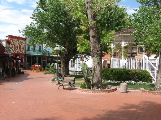 Town Square in Tucson Arizona's Trail Dust Town