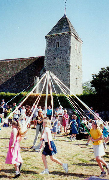 Maypole celebrations go back hundreds of years and are steeped in folklore.