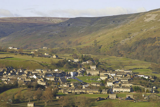 Reeth in Swaledale is also at the entrance to Arkengarthdale, all in lead mining territory, as is Grinton across the Swale from Reeth. Mining died gradually here in the 1920s