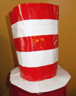 Easy hat crafts honor Dr. Seuss