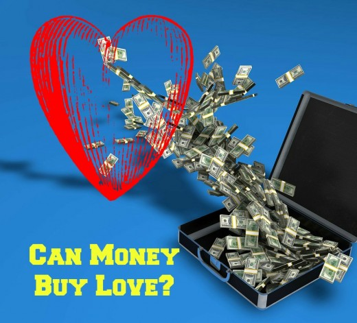 Can money buy love? Or happiness?