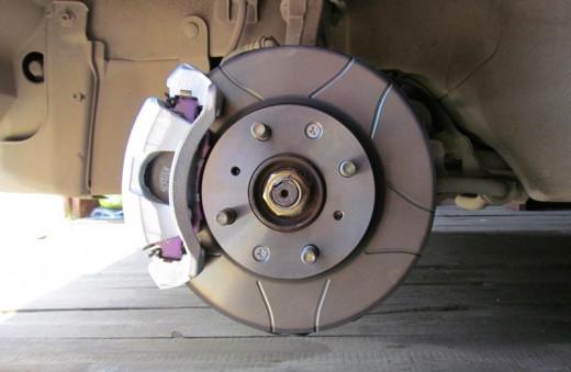 New disc brake