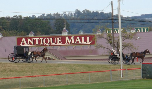 View of Mall Strip in Millersburg