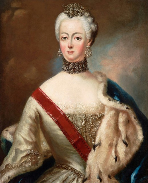 A younger Catherine the Great