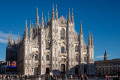 Things to do in Milan in Italy : Visit the Gothic Cathedral in Piazza Duomo