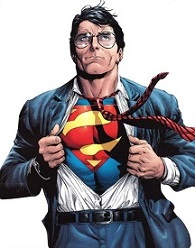Clark Kent. Totally not Superman.