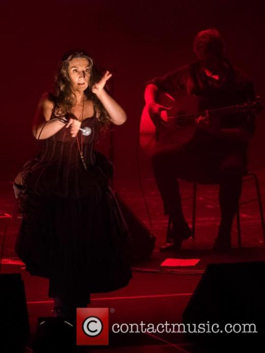 Dulce Pontes live at Centro Cultural de Belém - Lisbon, Portugal. January 7, 2015