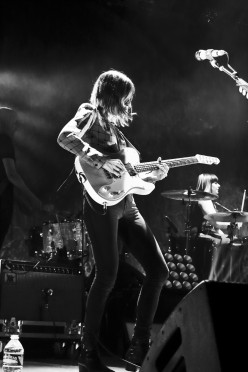 Sleater-Kinney at the Ogden Theatre in Denver, Colorado on 01/12/15