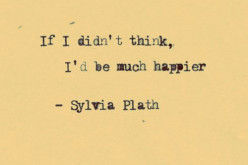 On poetry and the Sylvia Plath effect