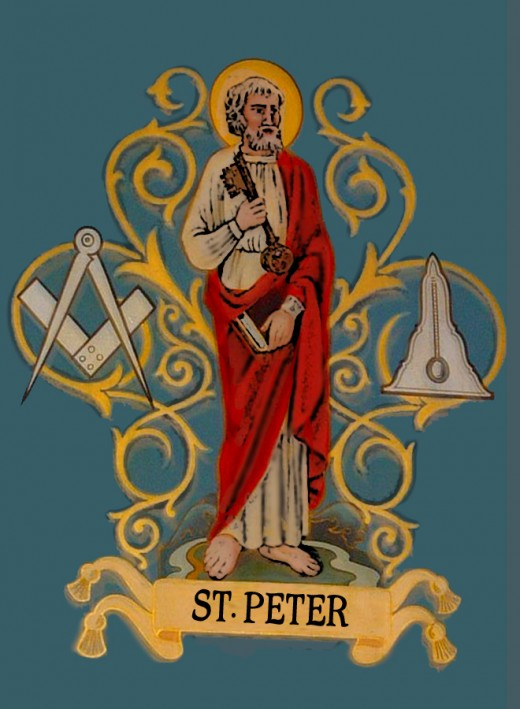 Sr. Peter is syncretized with Papa Legba