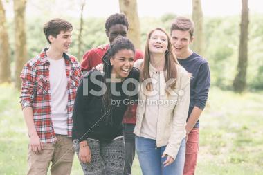mutlicultural teenagers