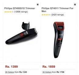 Philips QT4011 vs Philips QT4005/15