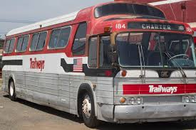 1976 Trailways coach
