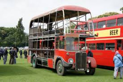 Double-decker buses are seen in London on a daily basis