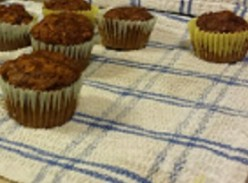 Healthy Apple Butter Mini Muffins