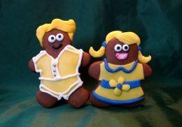 Decorated Gingerbread Men Cookies