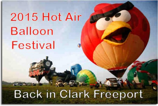 The 2015 Philippine International Hot Air Balloon Fiesta  (Photo Source: balloonteam.net)