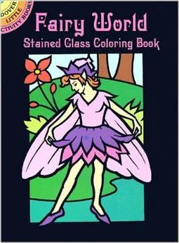 Fairy Colouring Book