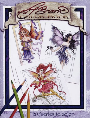 The Amy Brown Fairies Coloring Book