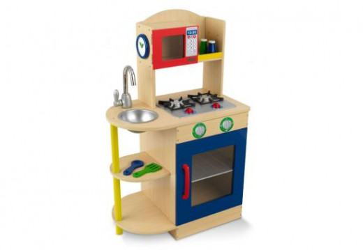 Primary wooden kitchen