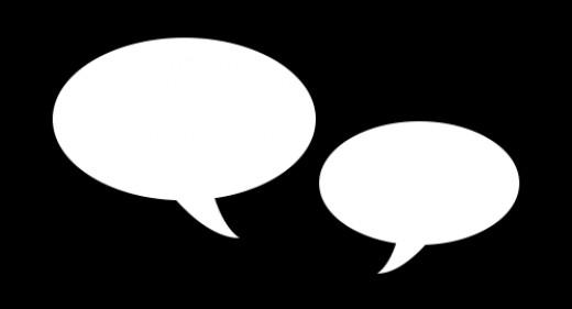 Conversation Bubbles