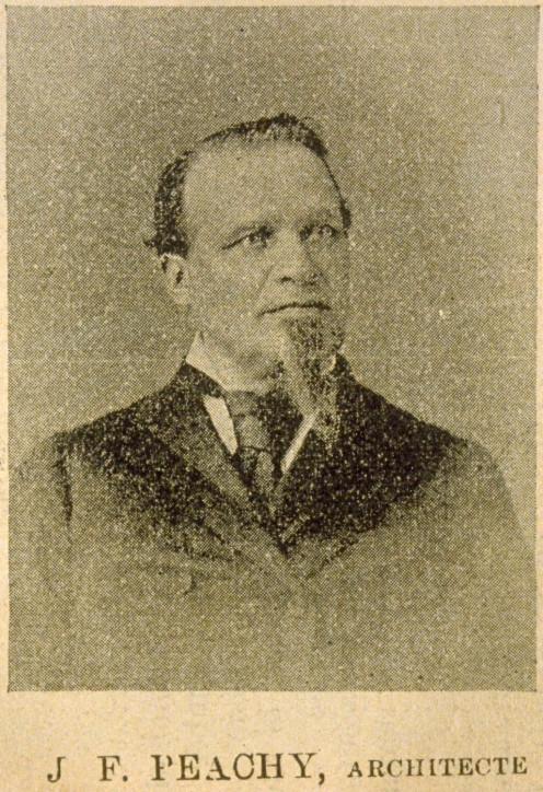 Joseph-Ferdinand Peachy ( Le Monde illustré Vol. 9, no 443 (29 octobre 1892), p. 305 PER M- 176; MIC A117)