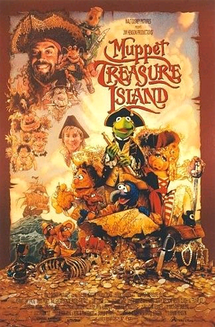 Theatrical release poster for Muppet Treasure Island.