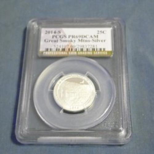 Graded PF-69 Silver Quarter