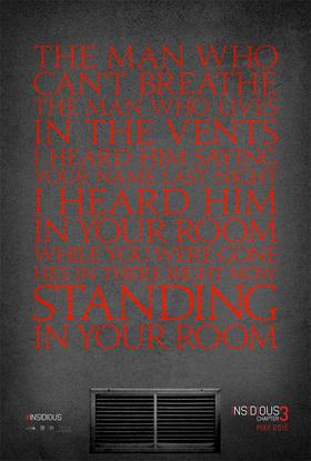 Insidious Chapter 3 Teaser Poster