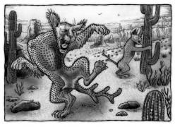 American Lumberjack Folklore Creatures