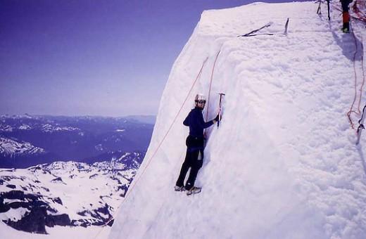 Climbing Mt.Rainier