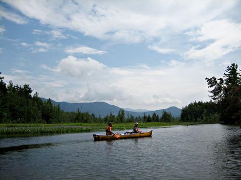 Canoeing The Adirondacks