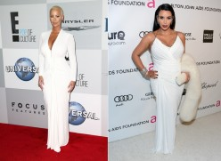 The battle...Kim Kardashian VS Amber Rose. Vote for your favorite and find out why they are more alike than you think!