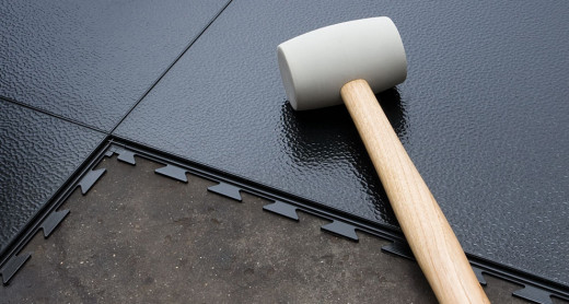 Simple Installation Procedure of Interlocking Garage Floor Tiles