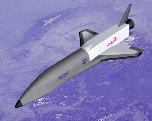 Proposed space plane
