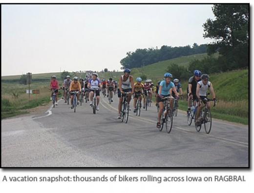 Biking Ragbrai