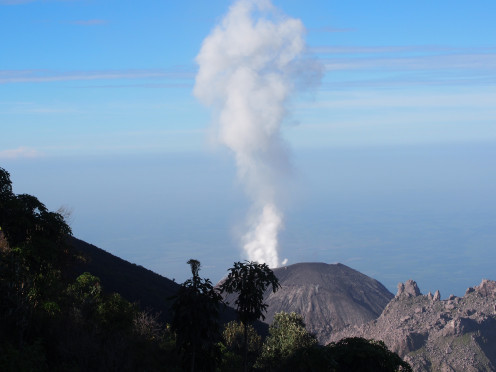 Santiaguito eruption