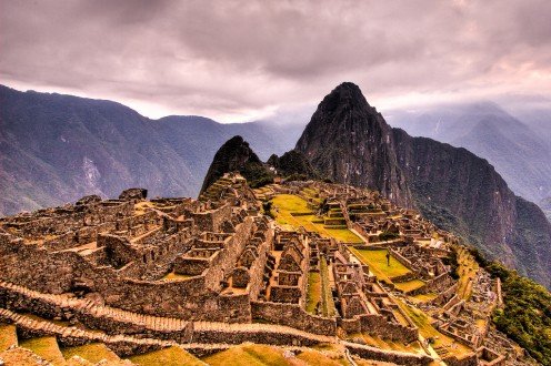 Machu Picchu - A place of mystery, nestled in the mountains of Peru